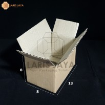 Kardus / Box Packing 13 x 8 x 8 cm