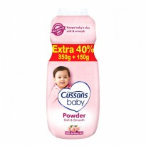 Cussons Baby Powder Soft and Smooth - 350+150gr