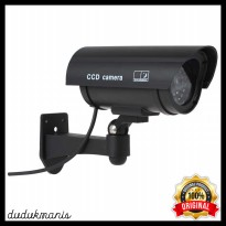 Kamera CCTV Outdoor Waterproof Palsu Dummy LED Murah ELE-101