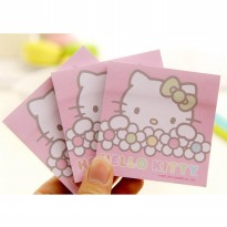 sno039 sticky notes cute hello kitty cat