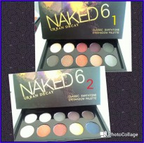 NAKED 6 URBAN DECAY CLASSIC KECIL