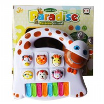 Piano Paradise Cartoon Animal batere operated 3+