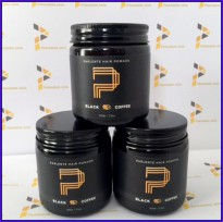 Hair Pomade Rambut Parlente Black Coffee  - Water Base Medium + Sisir