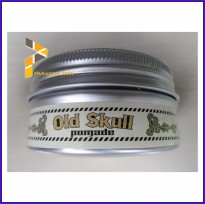 Hair Pomade Rambut Old Skull Medium Hold Bubble Gum Bonus Sisir