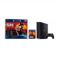 SONY PlayStation 4 Pro 1TB Red Dead Redemption 2 Bundle Pack