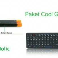Mini PC Smart TV Android Versi 5.1.1 With Laser Pointer Keyboard