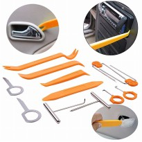 Car Radio Door Clip Panel Trim Removal Pry Tool Set