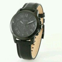 Jam Tangan Fossil FS-5132 Pria All Black Original Warranty Two Year