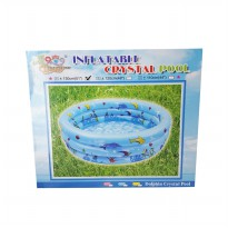 Kolam Crystal Pool 130 cm / 3 Ring
