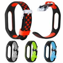 Xiaomi Mi Band 2 - Replacement Silicone Strap Ventilated Sporty Style