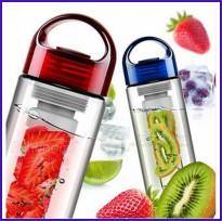 bottle tritan water with fruit infuser BPA free original
