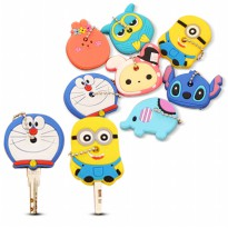[Buy 1 Get 1 Free] Key Cover Character / Sarung Kunci (Retail Packaging Original)