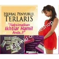 1 box CATUREX 1 box COLLACELL herbal solusi Hamil (PROMIL)