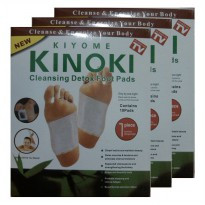 (PO1978) Kinoki Koyo Kaki Herbal Detox Foot Patch Putih 1 Kotak 3pcs
