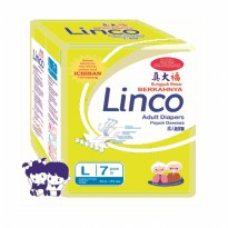 Popok Dewasa Adult Diapers Pampers LINCO L7 size L isi 7 pcs