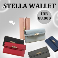 Jims Honey - Dompet Fashion Wanita Import - Stella Wallet (6 Warna)