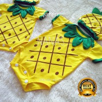 jumper bayi nanas / baby jumpsuit pineapple ermon