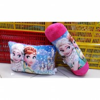 Set bantal dan guling frozen