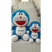 boneka doraemon brother (paket 2in1)/jumbo dan L