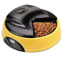 Portable 4 Meal LCD Automatic Pet Feeder - PF-05A