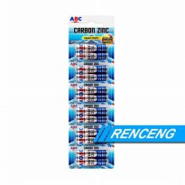 Promo Batu Baterai AAA ABC 1 Lusin  Battery A3 12 pcs Zn2158