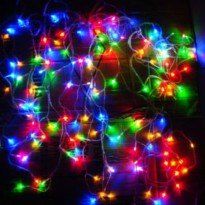 Bazar Lampu Hias Multifunction 100 LED Tumblr 10 Meter Rainbow Warna Warni Fk2256
