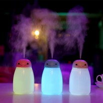 USB Baymax Anion Moisturizing Humidifier Colorful LED 400ml