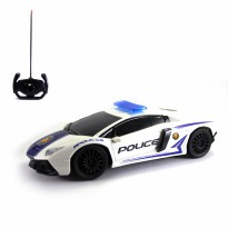 Mainan Remote Control Lamborghini Police Car Series