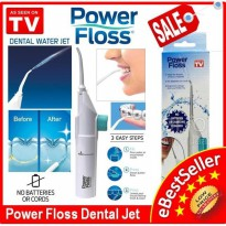 PORTABLE POWER FLOSS DENTAL WATER JET / ALAT PEMBERSIH GIGI P388