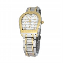 Aigner Verona Jam Tangan Pria A48029 Silver Gold Stainless Steel