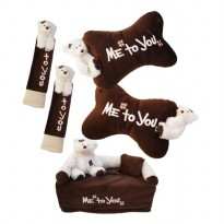Bantal Mobil Exclusive 3 in 1 Boneka Me To You