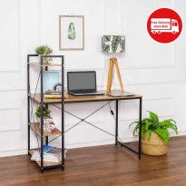 MEJA BASIC DESK WITH BOOKCASE H-1200 CH-BL-02