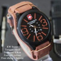 Victorinox Combo Leather Coklat Muda