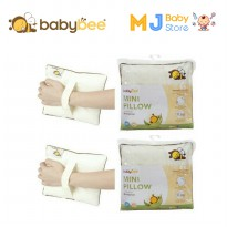 Babybee 3805 - Mini Pillow With Case ( Bantal Mini Bayi )