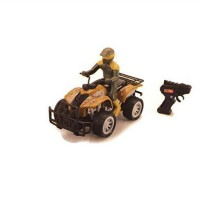 [poledit] Kid Connection Radio Control ATV with Rider Khaki/13493375