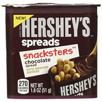 Hershey's Spreads Snacksters Chocolate spread with Graham Dippers 51gr