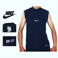 Manset - Baselayer Football - Baju Baselayer Unisex - Baselayer Singlet- Hitam BNK