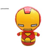 BALON TINJU IRONMAN IRON MAN  MARVEL EDITION TUMBLER BALON PEMBERAT PUNCH