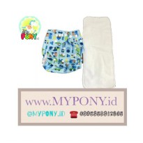 Mom Me Cloth Diaper + 1 Insert