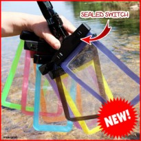 NEW Smartphone Waterproof Case/Sarung Cover HP Anti Air SEALED SWITCH