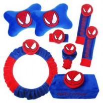 Bantal Mobil Extra Premium 6 in 1 Spiderman