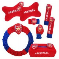 Bantal Mobil Extra Premium 6 in 1 Club Arsenal