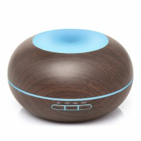 H02 - Essential Oil Aromatherapy Diffuser Ultrasonic Cool Mist Aroma Humidifier 7 Colors Mood Light