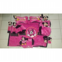 Bantal Mobil Exclusive 8 in 1 Boneka Minnie
