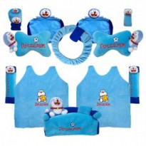 Bantal Mobil Exclusive 8 in 1 Boneka Doraemon