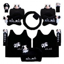 Bantal Mobil Exclusive 8 in 1 Boneka Moo