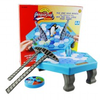 High Quality Penguin Trap Game Interactive Toy Ice Breaking Table Plastic Block Games Penguin Trap