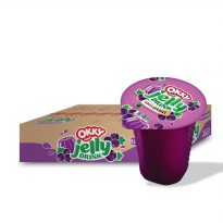 Okky Jelly Drink Blackcurrant 150 ml - Karton
