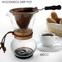 [globalbuy] NEW ARRIVAL FREE SHIPPING Woodneck Coffee Chemex Brewer 480CC 3-4cups Chemex c/2298485