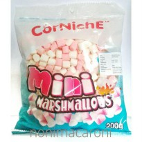 Corniche Mini Marshmallow Mix Pink & White 200gr